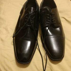Mens Black dress shoes